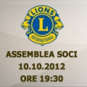 Lions Club Marsala We Serve ASSEMBLEA DEI SOCI   10-10-2012-